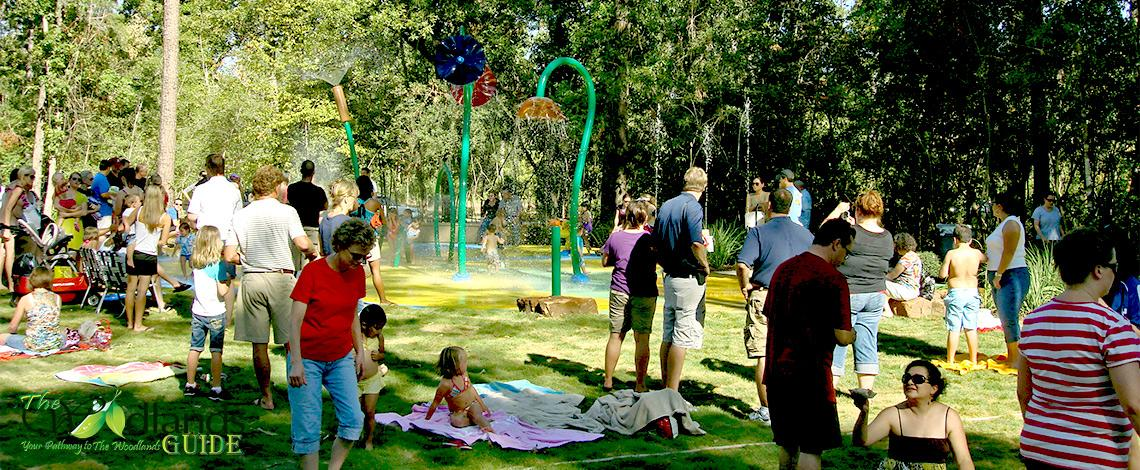 Timarron Spraypad Creekside Park The Woodlands