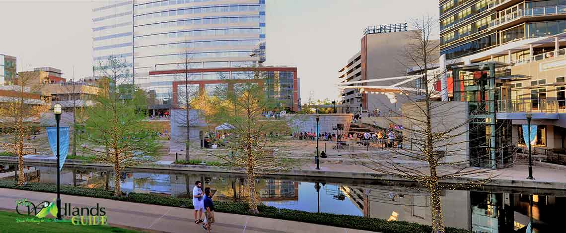 Waterway Square Park The Woodlands Town Center