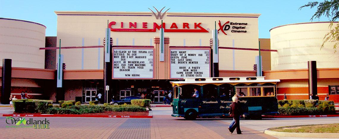 The Woodlands Cinemark Theaters