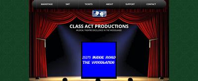 Class Act Productions The Woodlands