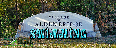 Swimming The Village of Alden Bridge