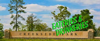 Creekside Park Restaurant Guide in The Woodlands