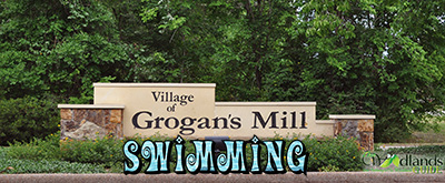 Swimming The Village of Grogan's Mill