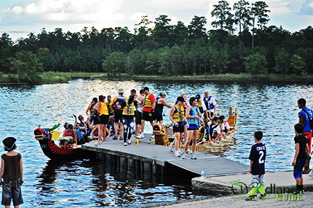 The Woodlands YMCA Dragon Boat Races