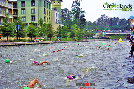 Triathlon Swimming Lake Woodlands