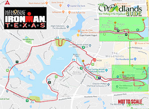 Texas Ironman Runners Course Map