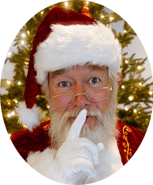 pictures with Santa Claus The Woodlands Texas