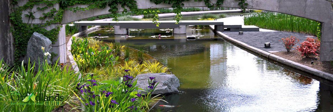 Koi Pond Town Center Waterway