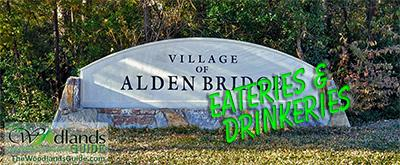 Alden Bridge Restaurant Guide in The Woodlands