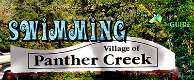 Swimming The Village of Panther Creek