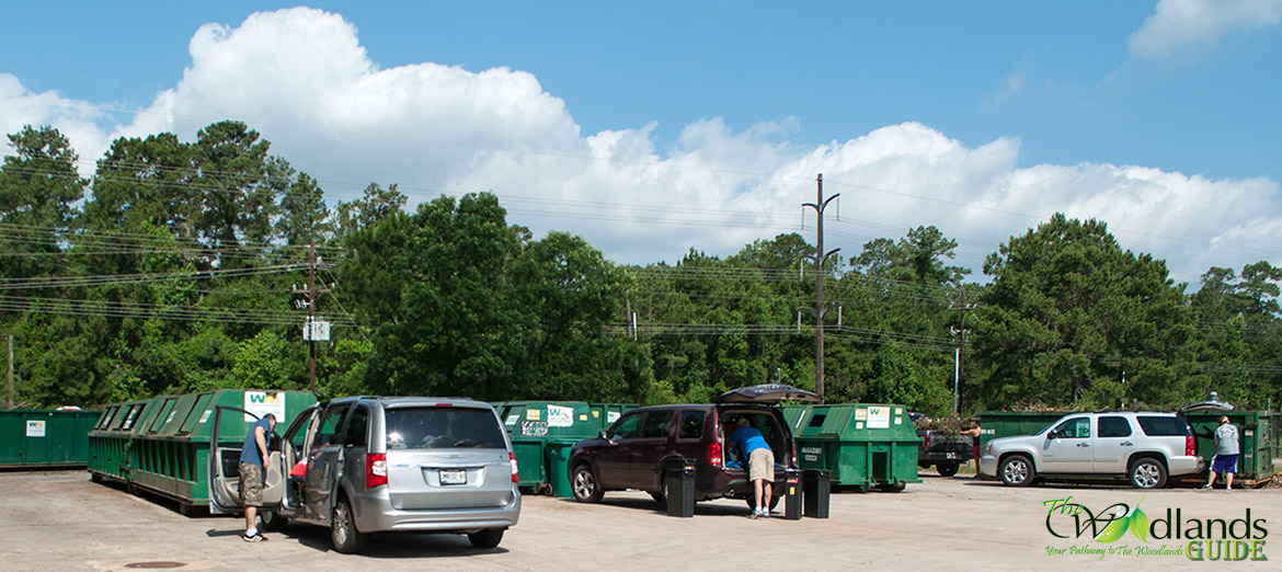 The Woodlands Texas Recycle Guide